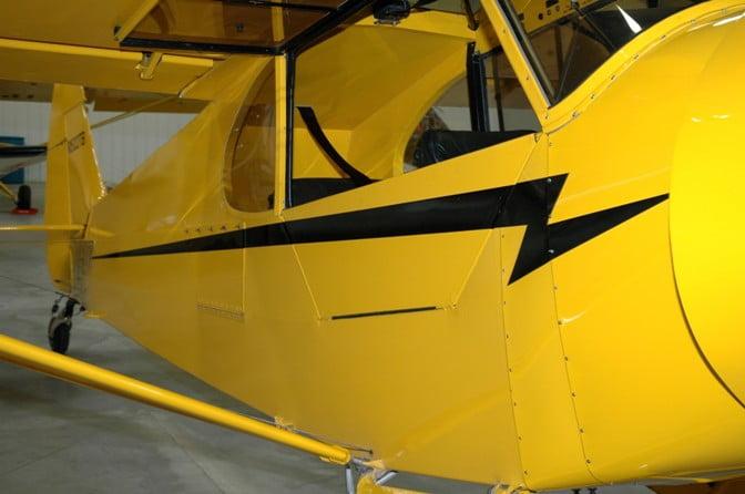 1999 Piper Cub Crafters Pa 18 Super Cub N822tb S N
