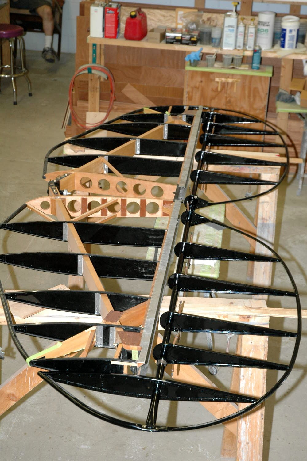 All New Empennage for UPF-7