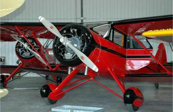 1938 Waco Egc 8 N2279 Rare Aircraft