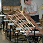 Fuselage wood underway