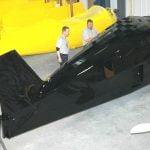 Black SR-9F Fuselage