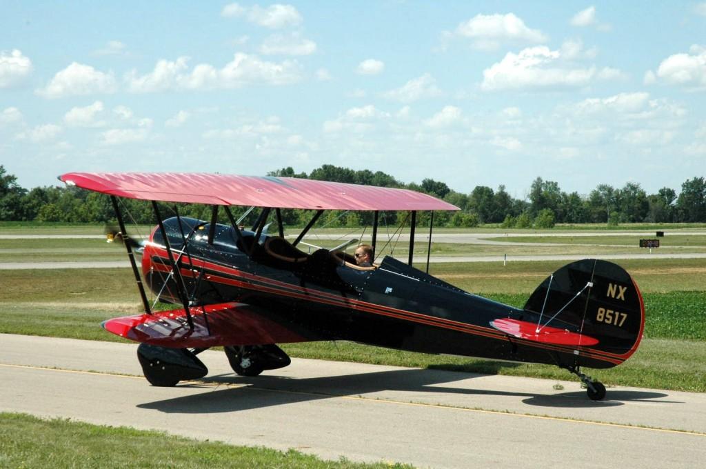 Reade Genzlinger's Taperwing Waco