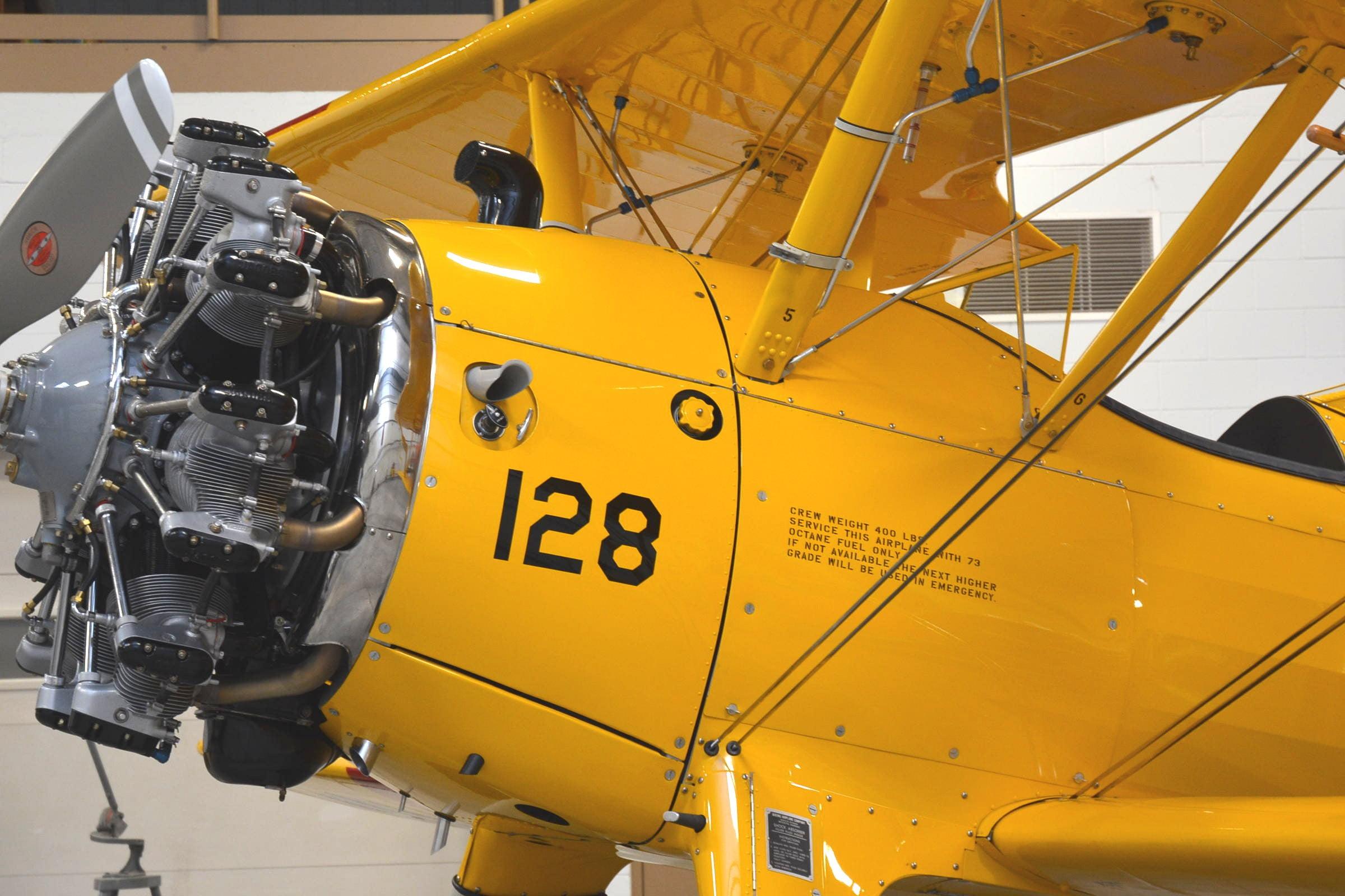 Stearman Jacobs Engine Conversion Rare Aircraft