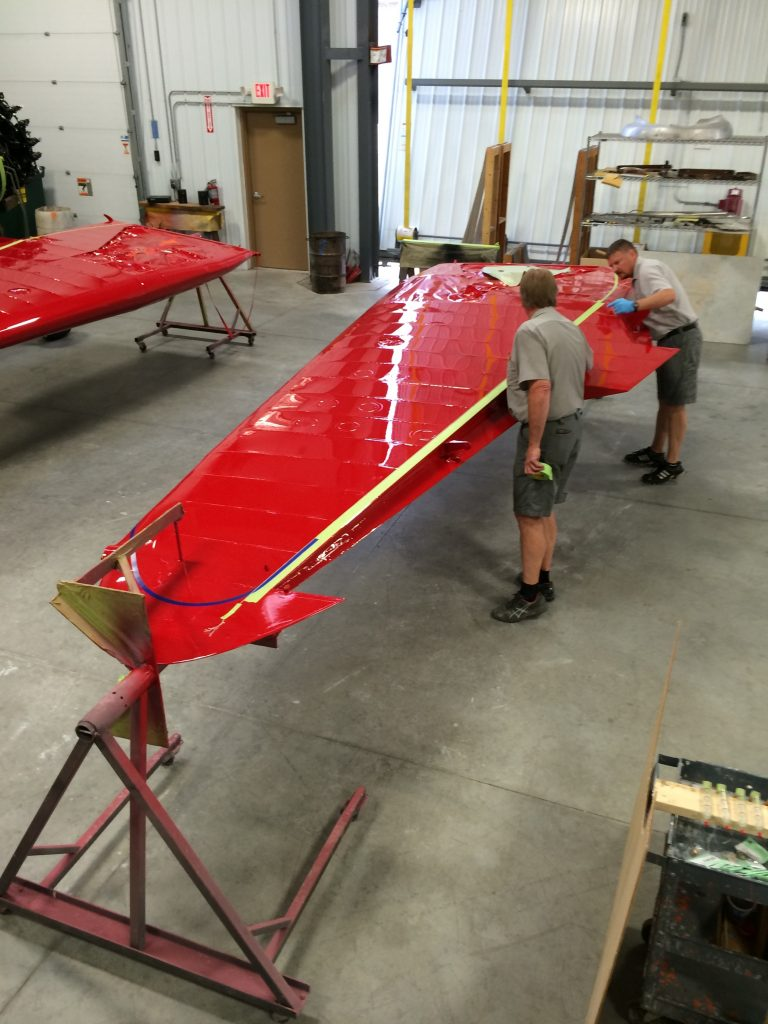 Stinson Reliant Wings