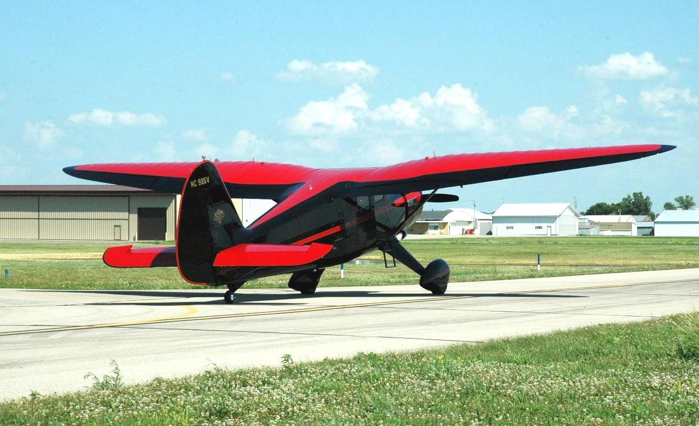 1943 Stinson Gullwing Rare Aircraft