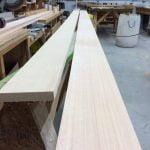 Sitka Spruce spar stock