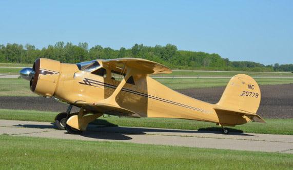 1939 Beech D17s Staggerwing Rare Aircraft