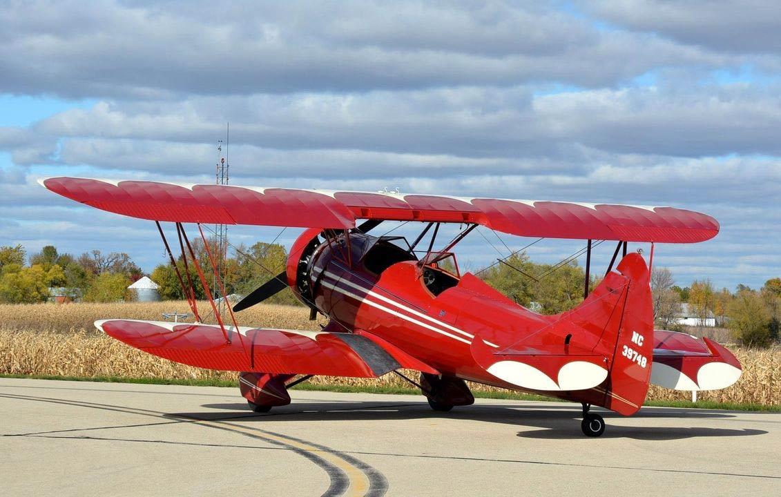1942 Waco Upf 7 Rare Aircraft