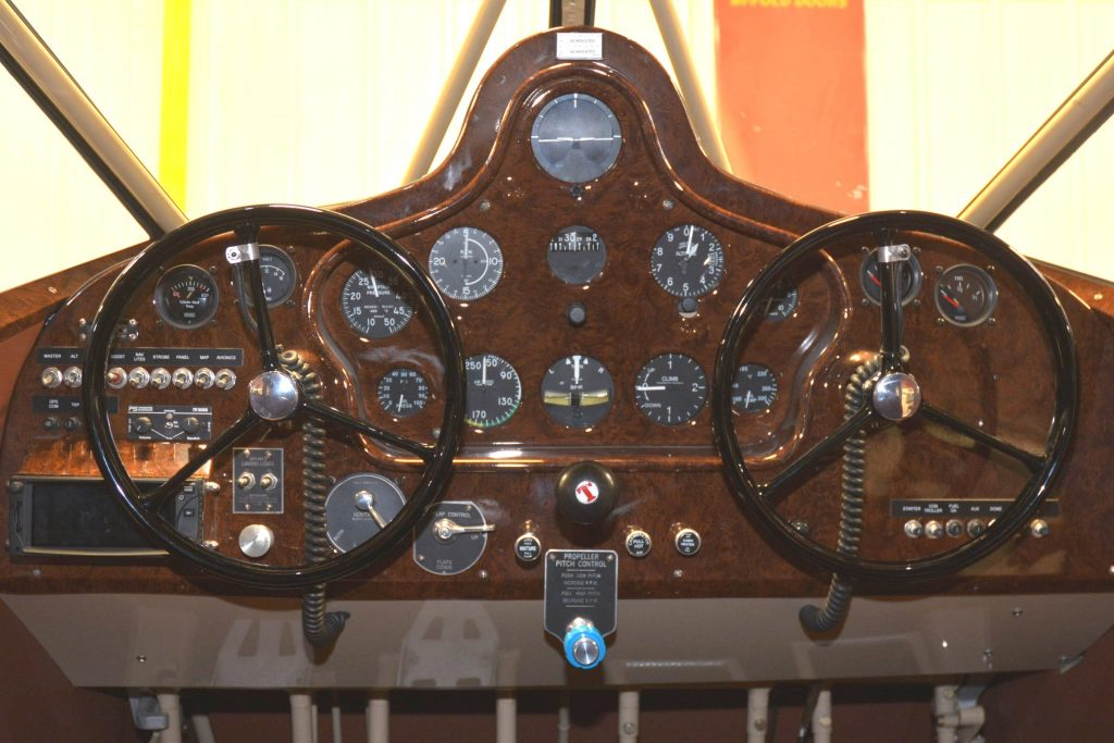 Gullwing Instrument Panel